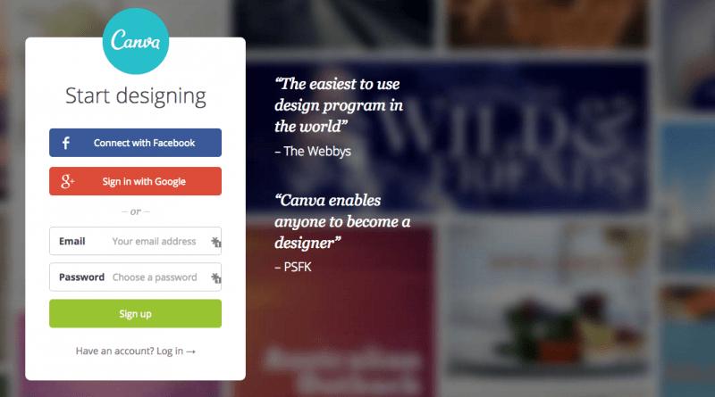 Canva Online Graphics Creator