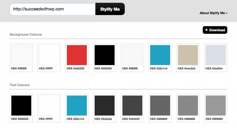 Stylify Me Designer Tool